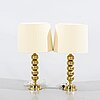 Two table lamps, enco, second half of the 20th century.
