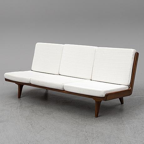 "A ""studio"" sofa, puunveisto oy för gösta westbergs möbel ab, 1950/60s."