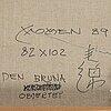 Karl momen, olja på duk, signerad och daterad 89.