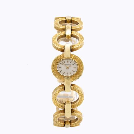 Jaeger lecoultre - wrist watch, 18k, total weightvikt ca 51g.