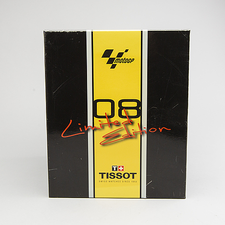 Tissot t-race motogp 2008 chronograph limited edtion.