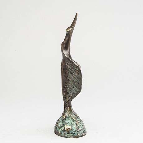 Stan wys, sculpture, bronze, signed, numbered 14/50, dated 2000.