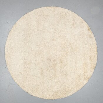 "GUNILLA LAGERHEM ULLBERG, A CARPET, ""Moss 1"", circular, Kasthall, ca 248,5 in diameter."