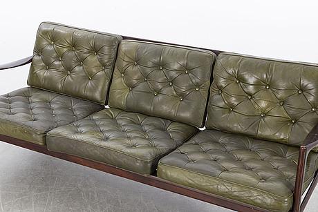 """Ib kofod larsen, soffa, """"kandidaten"""", 1960-tal."""