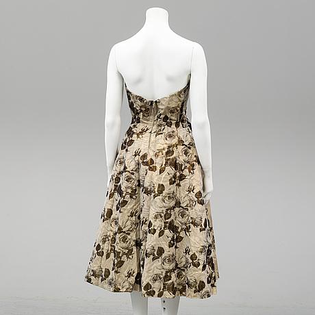 A cocktail dress from märtaskolans franska avdelning, stockholm, 1950's.