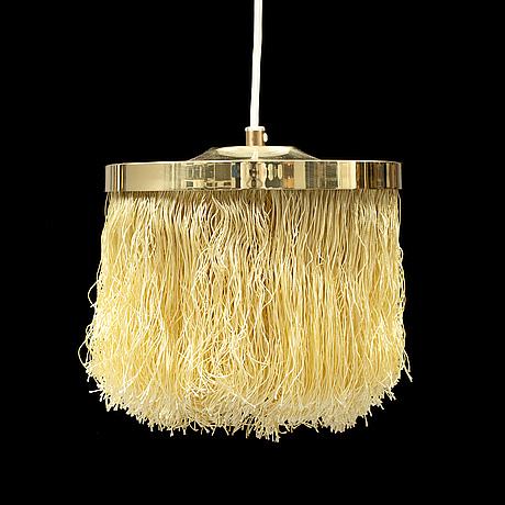 Hans-agne jakobsson, a brass ceiling light.