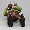 A ceramic gnome, germany, 20th century.