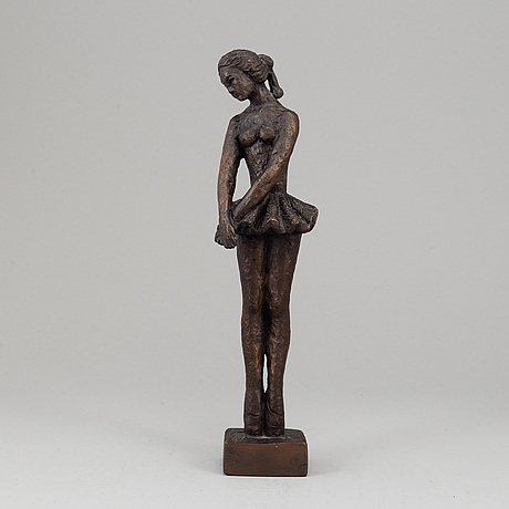 Carl-einar borgstrÖm, sculpture, bronze, signed and numbered 340.