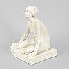 Per hasselberg, after. a porcelain 'grodan' figurine.