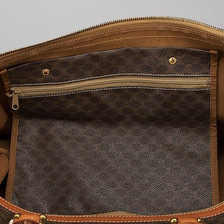 CÉline, a 'macadam duffle' bag.