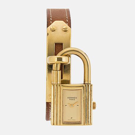 HermÈs, kelly lock, wristwatch.