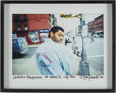 Ricky powell, a photograph, signed and numbered 1/20.