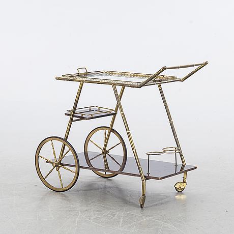 Serveringsvagn 1900-talets mitt.
