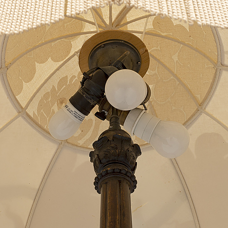 A first half of the 20th century floor light.