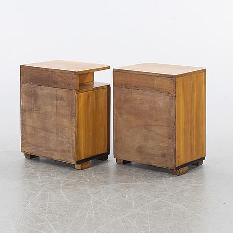 SÄngbord, ett par, mid 20th century.