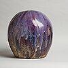 """Ulla & gustav kraitz, a stoneware """"sphere"""" sculpture, förslöv, 1983."""