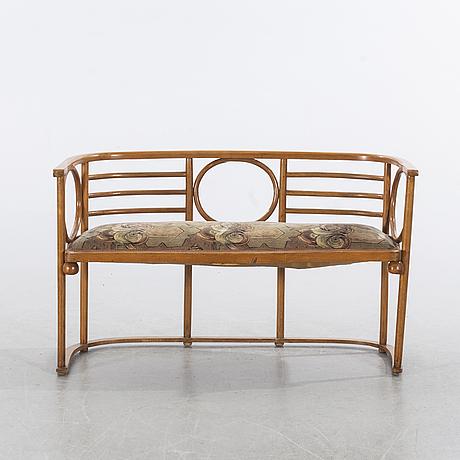 Soffa, thonet-stil, 1900-talets första hälft.