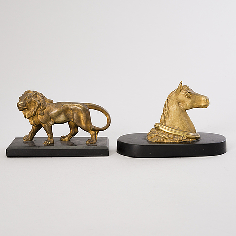 Two 20th century  paperweights.