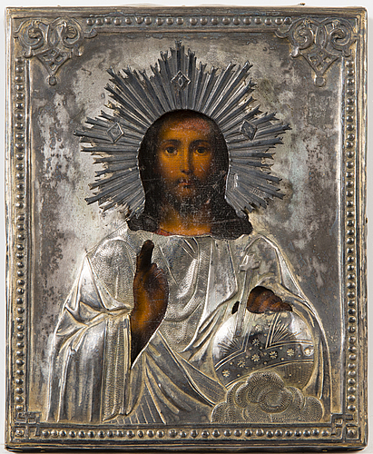 A russian icon dated 1870 moscow.