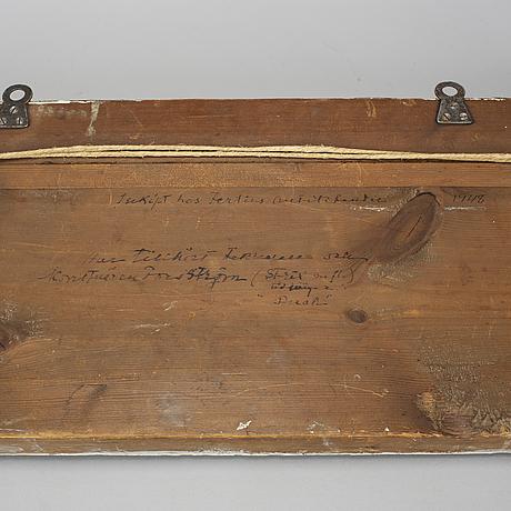 A late gustavian crest, ca 1800.