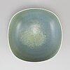 Berndt friberg, a stoneware bowl, gustavsberg studio, sweden 1965.
