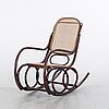 A first half of the 20th century rocking chair.