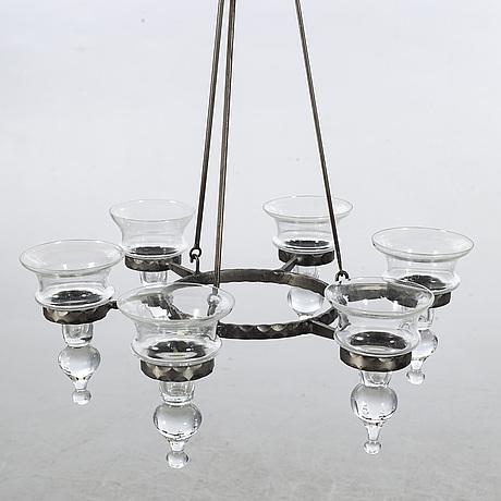Bertil vallien, chandelier, boda, 1970's.
