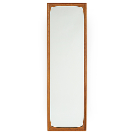 A teak mirror from fröseke, ab nybrofabriken, 1950's/60's.