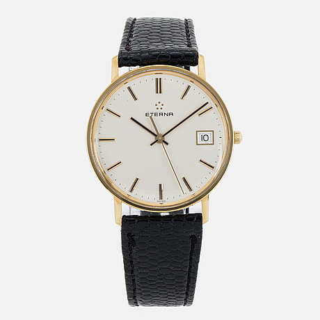 Eterna, armbandsur, 33.5 mm.