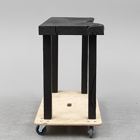 Per brandstedt, a 'plateu' table.