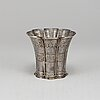 A sterling silver margrethe cup from albing, denmark.
