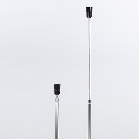 Carl fagerlund, a pair of floor lamps.