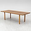 A 1970's coffee table by hans wegner for andreas tuck denmark.