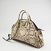 Gucci, väska, ormskinn.