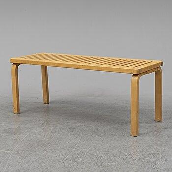 ALVAR AALTO, a birch bench model 153A, Artek, Finland.