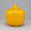 Ingeborg lundin, a glass vase, orrefors.