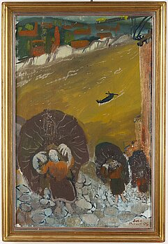SVEN X:ET ERIXSON, oil on canvas, signed and dated -36.