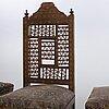 Stolar 4 st orientalisk stil omkring 1900.