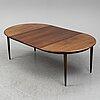 A 1960's rosewood dining table by skovmand & andersen, denmark.