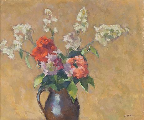 Werner ÅstrÖm, oil on canvas, signed.