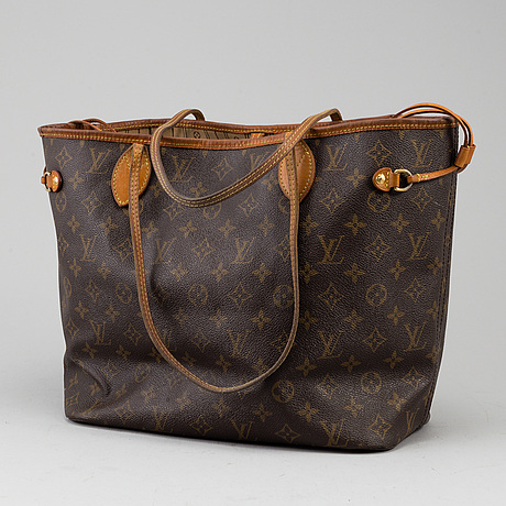 """Louis vuitton, väska, """"neverfull mm""""."""