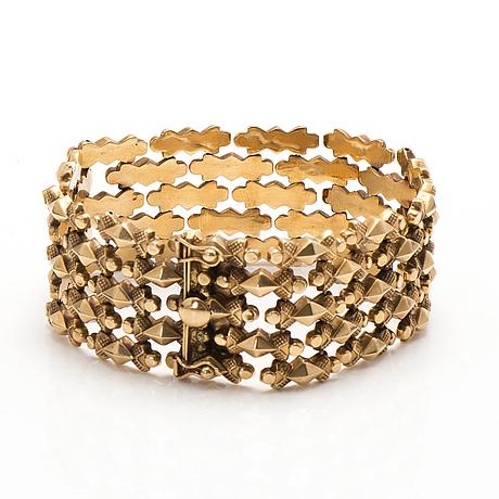 Armband, 18k guld.