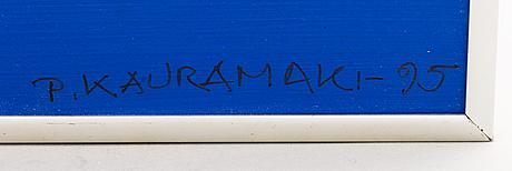 Paavo kauramÄki, acryl on board, signed and dated-95.