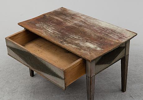 Bord, allmoge, sengustavianskt, forsa, 1800-talets början.