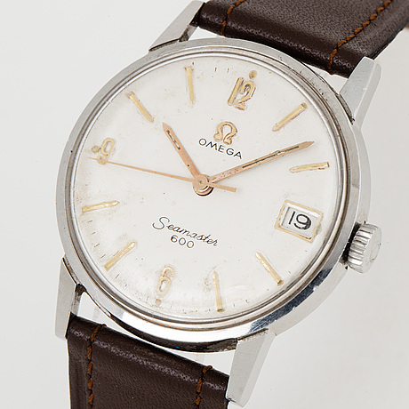 Omega, seamaster 600, wristwatch, 32.5 mm.