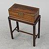 A writing box, 19th / 20th century.