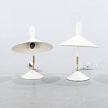 Two table lamps, second half of the 20th century.