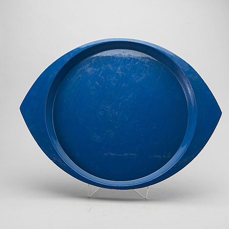 Jens quistgaard,a laquered tray.
