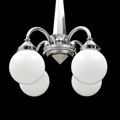 A 1930s ceiling light.
