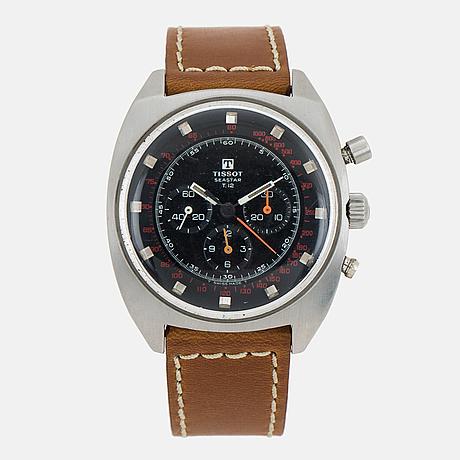 Tissot, seastar, t.12, chronograph, wristwatch, 42 mm.